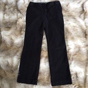 J. Crew City Fit Black Pants